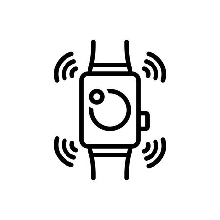 Icon for smartwatch,wearable 일러스트