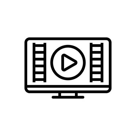 Icon for video,show,demonstrate