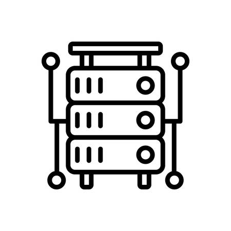 Icon for database,storage