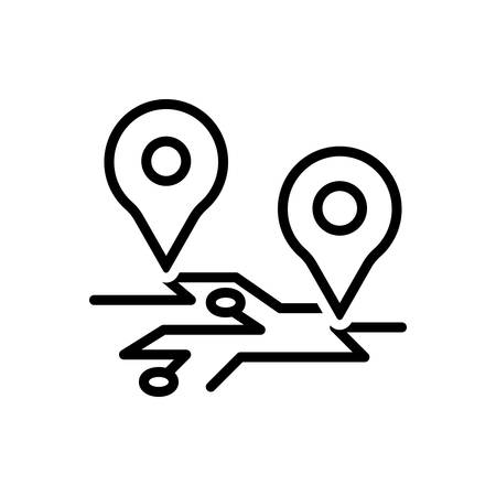 Icon for gps,map location,location,pointer Illustration