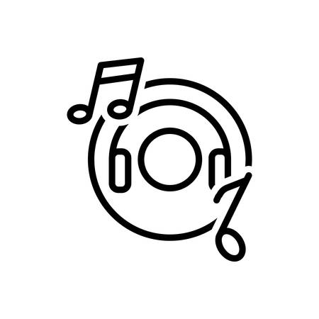 Icon for music,entertainment