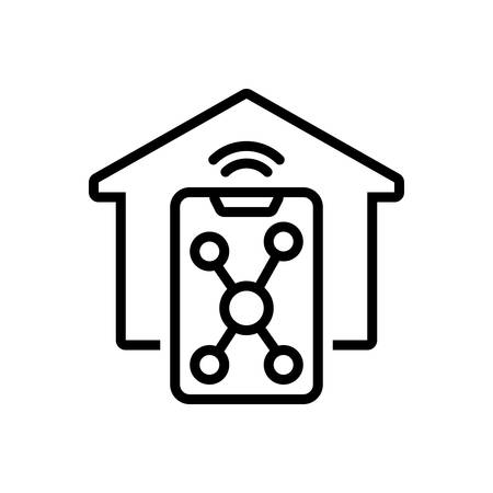 Icon for smart home,smart