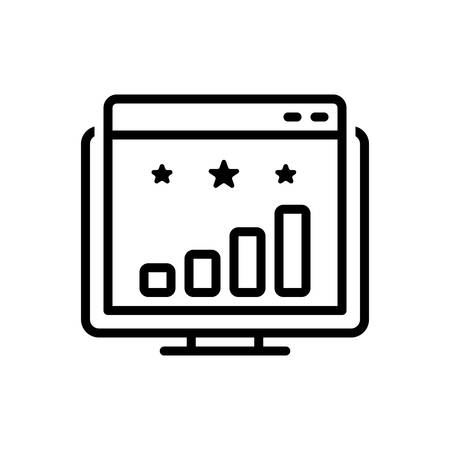 Icon for website ranking,website,ranking  イラスト・ベクター素材