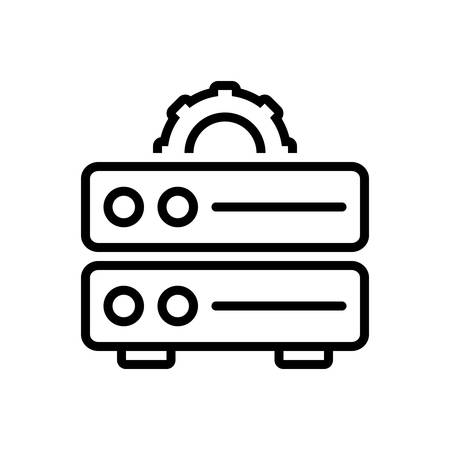 Icon for data management,data