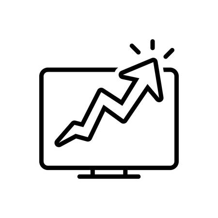 Icon for growth traffic,growth,traffic