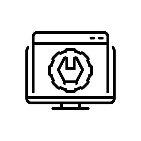 Icon for web optimization,website
