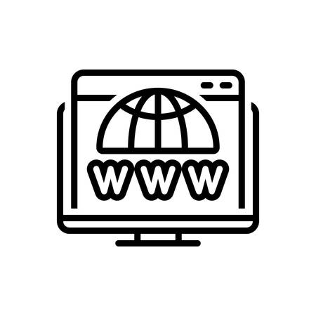 Icon for domain,search