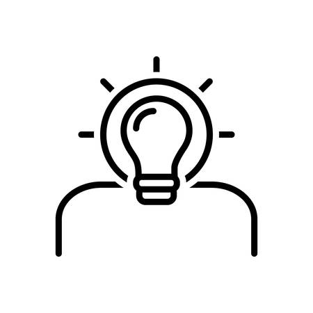 Icon for idea,find a solution,creative