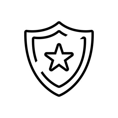 Icon for shield,security