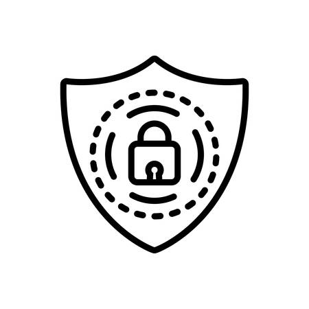 Icon for protection,shield