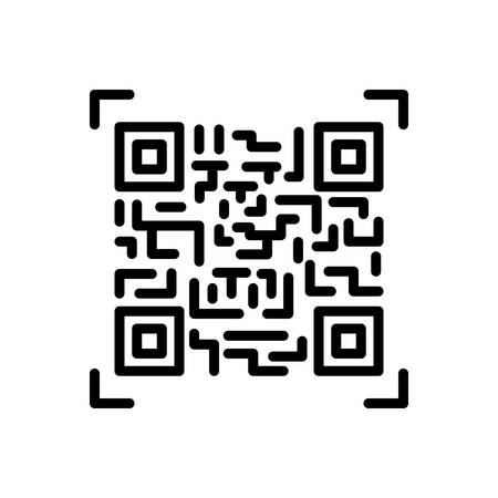 Icon for qr code,scan,technology Çizim