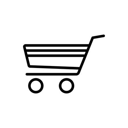 Icon for shopping cart,commerce