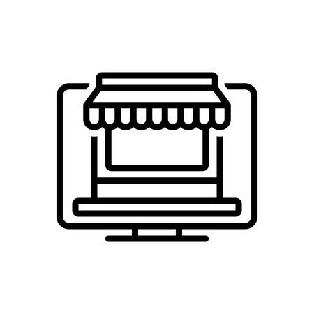 Icon for online store,online shop,internet