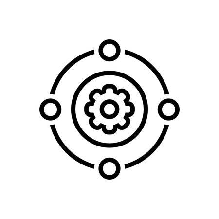 Icon for teamwork,workforce Vector Illustration