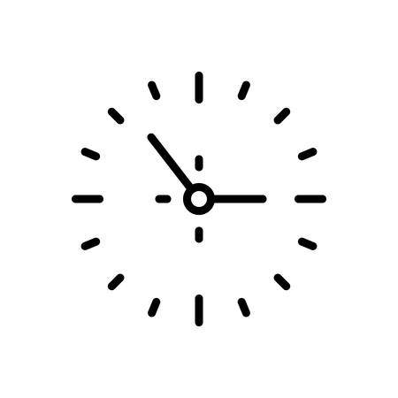 Icon for clock,around the clock
