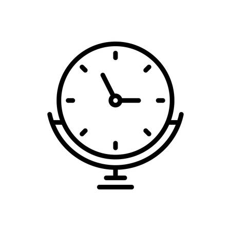 Icon for clock,stand,alarm
