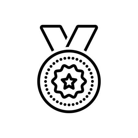 Icon for medal award,medal,award Illustration