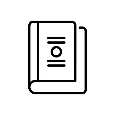 Icon for book,booklet,dictionary
