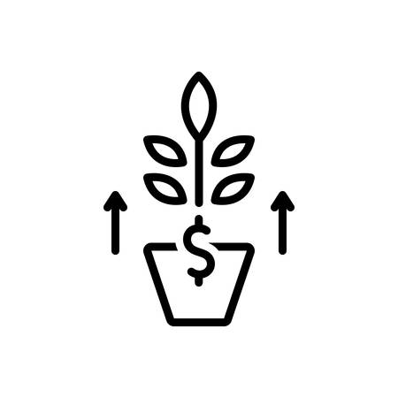 Icon for growth,development