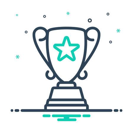 Icon for top award,top,award,accolade 向量圖像