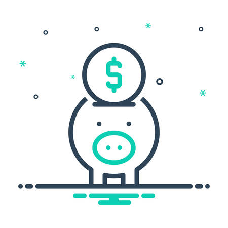 Icon for banking,piggy,save
