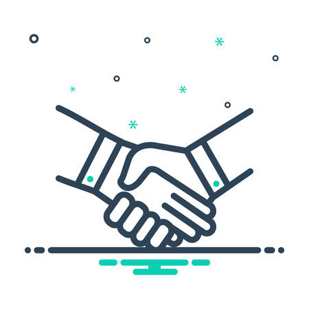 Icon for handshake,deal,pledge