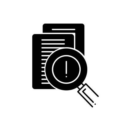 Risk evaluation icon