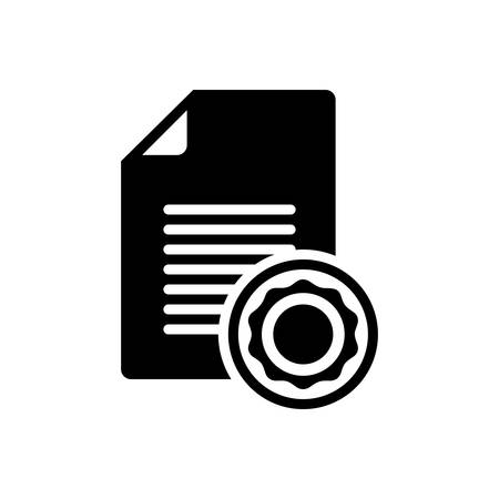 Document icon Stockfoto - 132113844