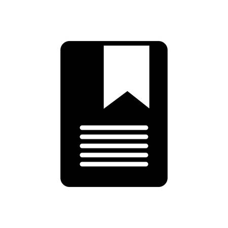 Bookmarking icon Illustration