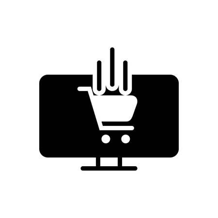 Ecommerce icon Banco de Imagens - 132113884