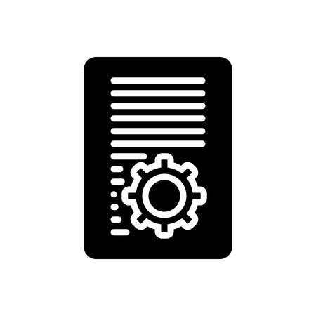 Document icon Illustration
