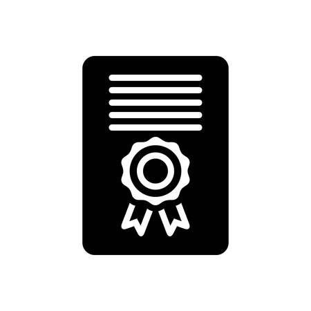 Certificate icon Stockfoto - 132113926