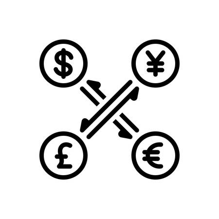 Icon for currency, convert