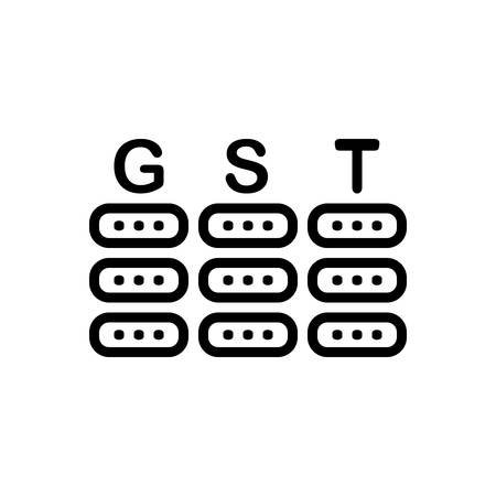 Icon for gst ,tax