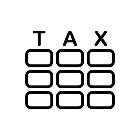 Icon for tax ,taxation