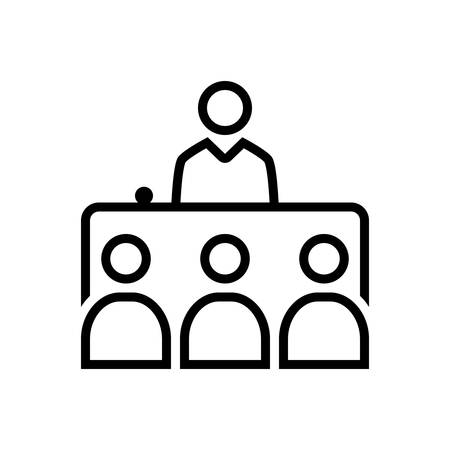 Icon for interview ,presentation