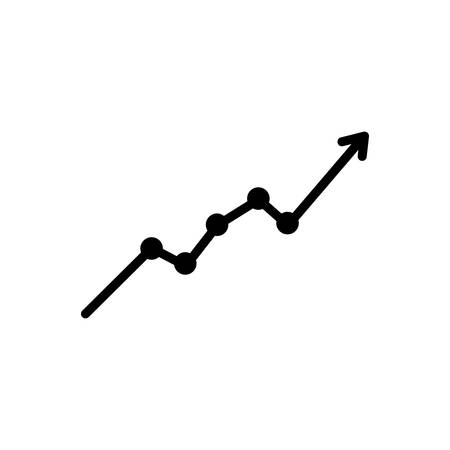 Icon for sensex ,market 向量圖像