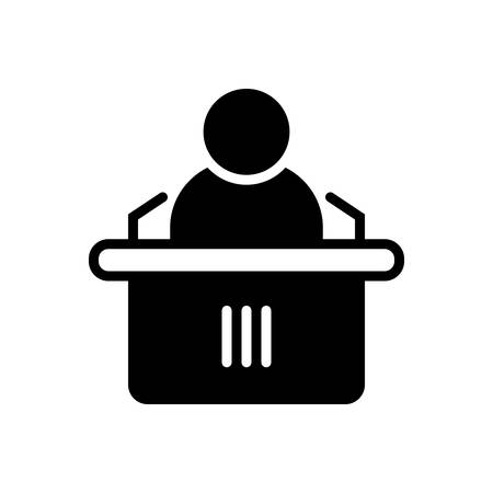 Conference icon 向量圖像