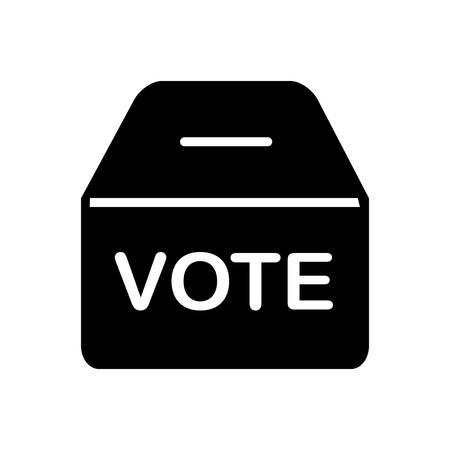 Polling box icon
