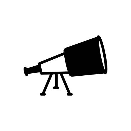 Telescope icon Archivio Fotografico - 132313853