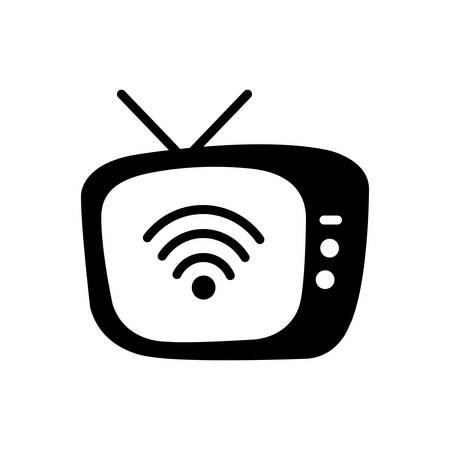 Tv icon Ilustrace