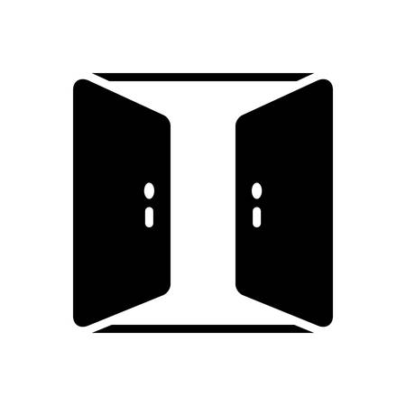 Open door icon
