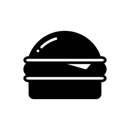 Burger icon Illusztráció