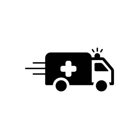 Ambulance van icons