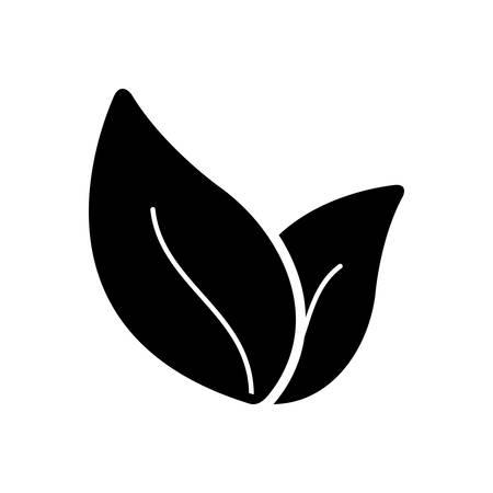 Leaf icon Ilustracja