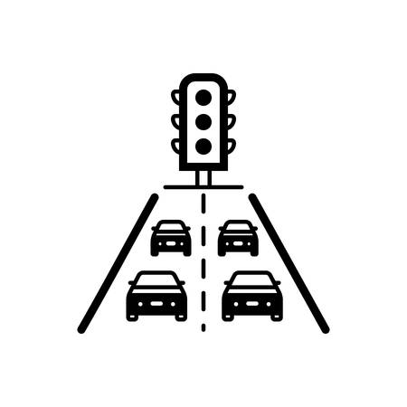 Traffic icon Ilustracja