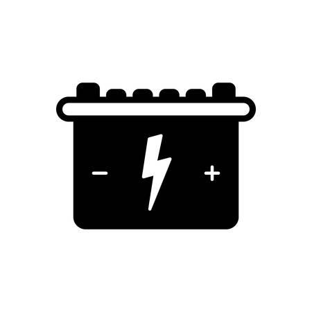 Battery icon Ilustrace