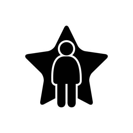 Superstar icon Ilustrace