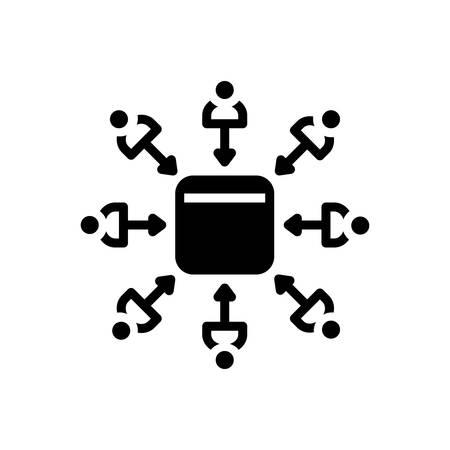 Leads icon Иллюстрация