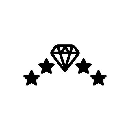 Diamond icon Иллюстрация